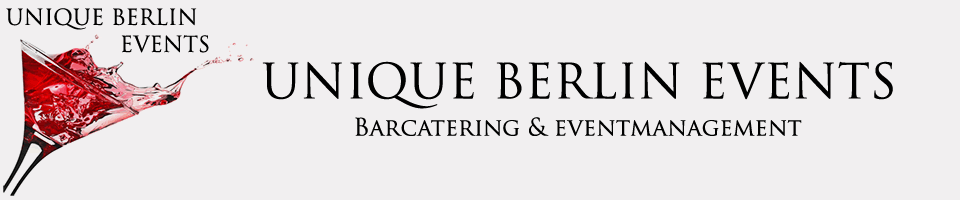 Unique-Berlin-Events Catering | mobile Cocktail Bar | Barcatering | Cocktailservice | Barkeeper